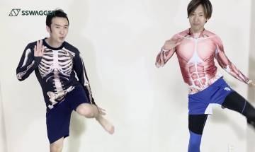 站立式收腹2星期腰圍減5cm!日本健身達人示範6大步驟