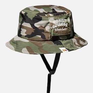 GU & Studio Seven「Honest College」Camouflage Bucket hat
