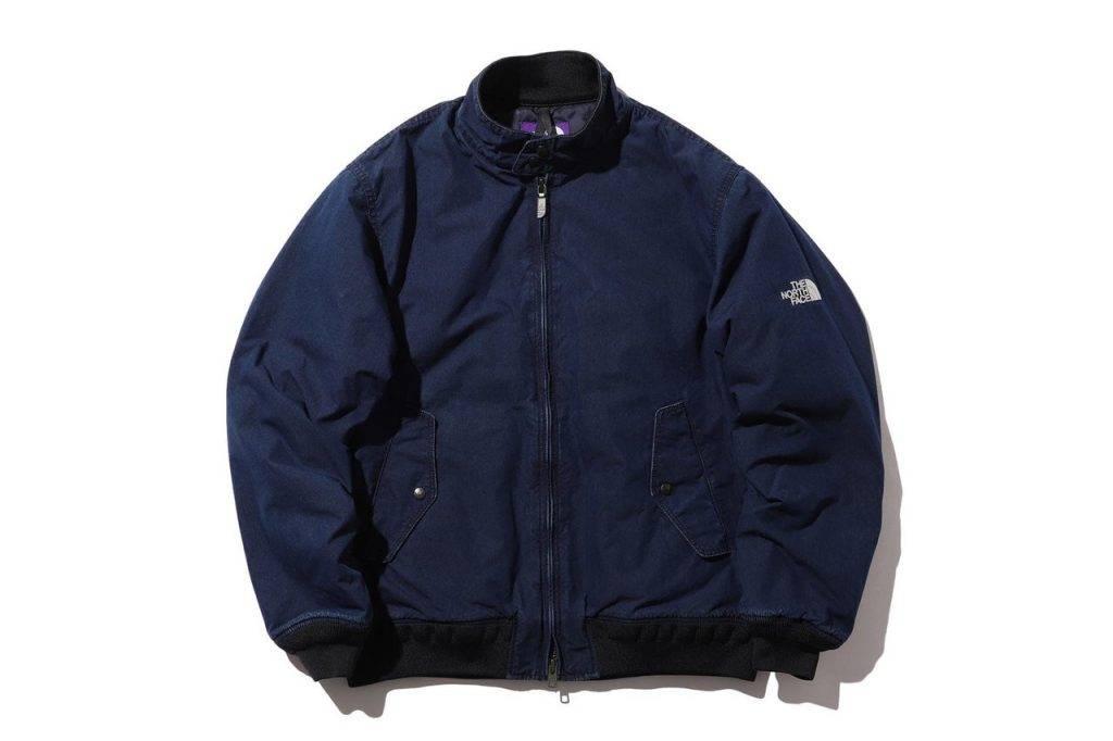BEAMS x The North Face Purple Label Field Jacket Indigo Blue Colouway