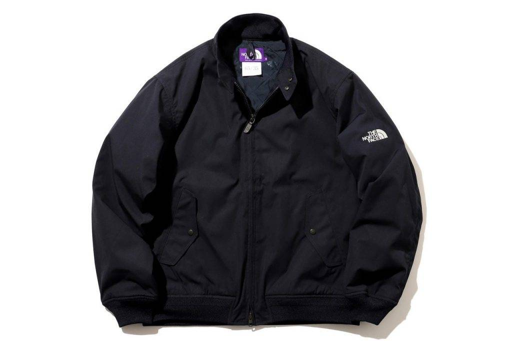 BEAMS & The North Face Purple Label Field Jacket Indigo Black Colouway