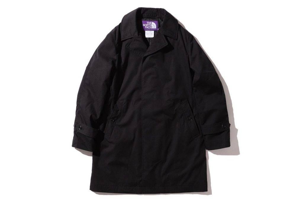 BEAMS & The North Face Purple Label Bal Collar Black Colouway