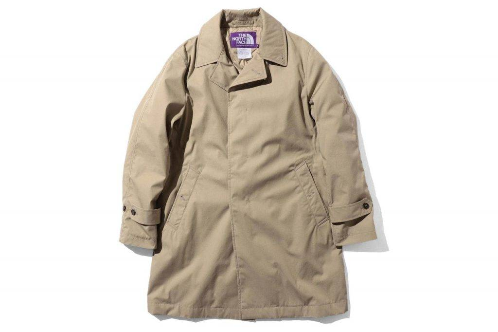 BEAMS & The North Face Purple Label Bal Collar Beige Colouway