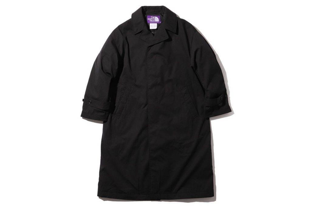 BEAMS & The North Face Purple Label Big Stain Collar Coat Black Colouway