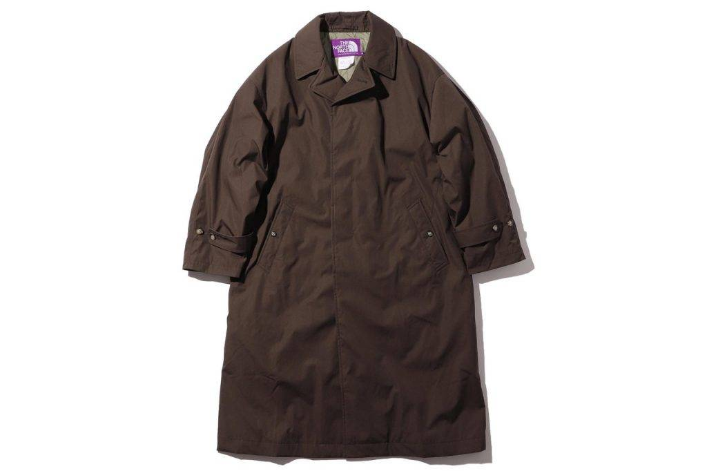 BEAMS & The North Face Purple Label Big Stain Collar Coat Brown Colouway