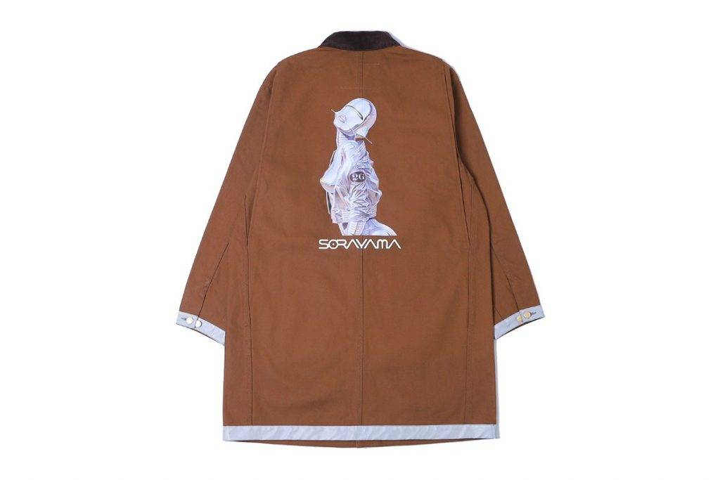 Carhartt WIP x 2G OG Chore Coat Brown Colourway
