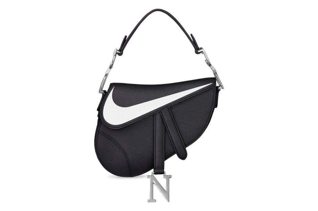 Nike Swoosh Label x Dior Saddle Bag