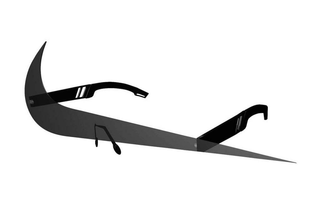 Nike Swoosh Futuristic Sunglasses