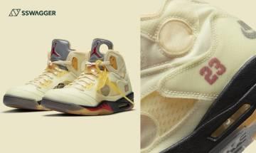 Off-White x Nike Air Jordan 5再登場!無私公開發售、定價預告