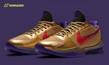 UNDEFEATED x Nike Kobe 5 Protro「Hall Of Fame」全新官方圖片釋出