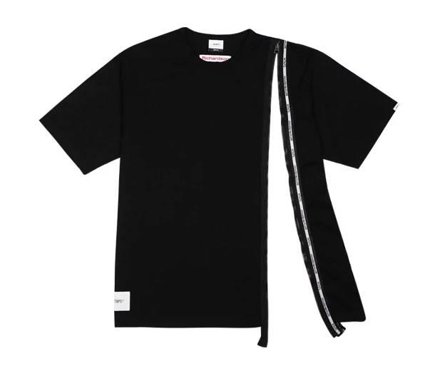 WTAPS & Richardson Zip T shirt Black Colourway to be release on November 14th