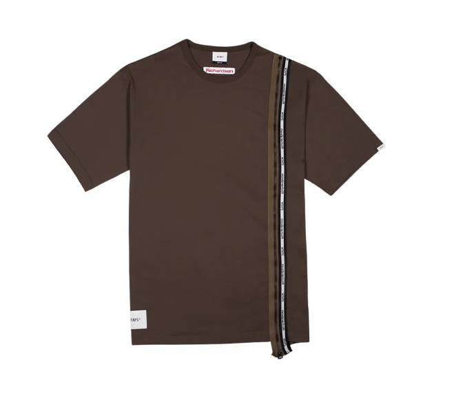 WTAPS & Richardson Zip T shirt Brown Colourway to be release on November 14th