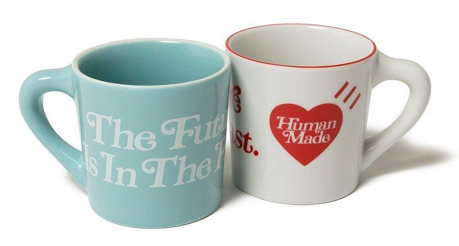 HUMAN MADE Girls Don't Cry 2020 AW Collection cup baby blue white