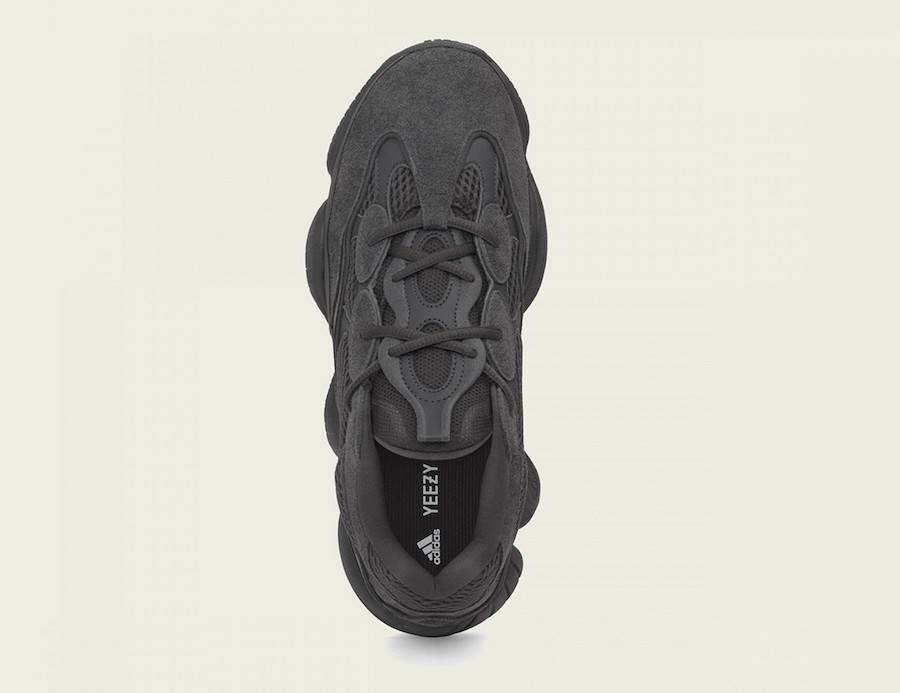 Yeezy adidas 500 Utility Black colourway to be released on November 30