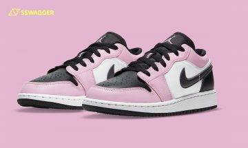 Air Jordan 1 Low帶來全新Light Arctic Pink配色