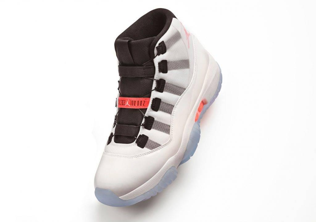 Air Jordan 11 Adapt White Orange Colourway