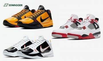 Air Jordan 4 Retro Fire Red及Nike Kobe 5 Protro Bruce Lee系列抽籤渠道同步曝光