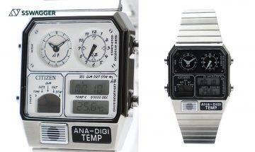 BEAMS x Citizen推出全新聯乘復刻版電子錶ANA-DIGI TEMP