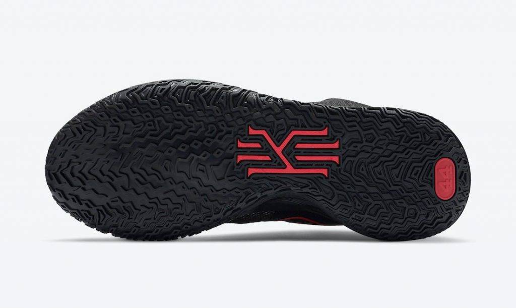 Kyrie 7 Black and red Bred Colourway to be released on december 15th