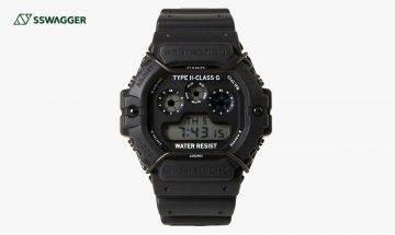 G-SHOCK x N.HOOLYWOOD推出全新聯乘暗黑系手錶DW-5900