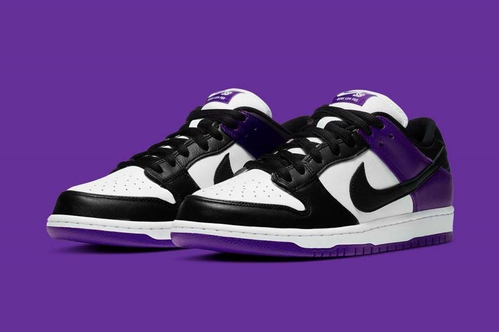 紫色波鞋 Nike SB Dunk Low 「Court Purple」