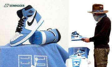 Nike Air Jordan 1 Retro High OG University Blue實物上腳圖曝光