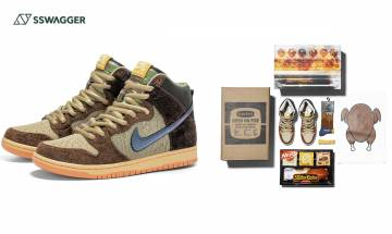 Nike SB x Concepts以火雞作靈感推出聯乘!民以食為天