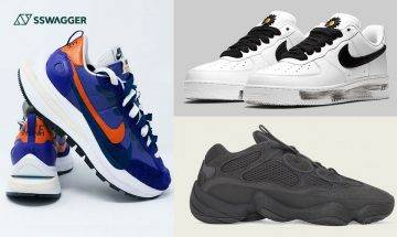 Nike x sacai Vaporwaffle新色、Yeezy 500 Utility Black等・SSneakers Weekly今週定必注目之5款球鞋