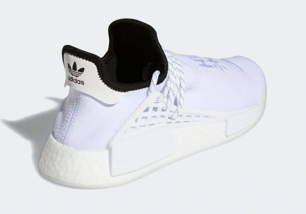 adidas Originals Pharrell Williams Hu NMD Core White colourway