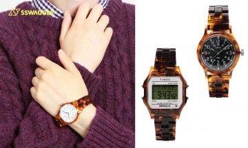TIMEX x BEAMS推出全新「Tortoise shell」別注版手錶系列