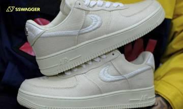 沙色波鞋精選5對:Nike x Stüssy Air Force 1最新預告!