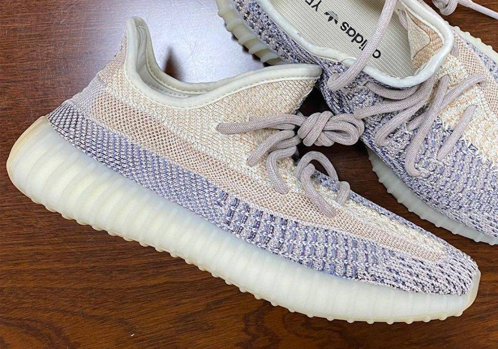 YEEZY BOOST 350 v2 Ash Pearl adidas beige colourway leaked photo