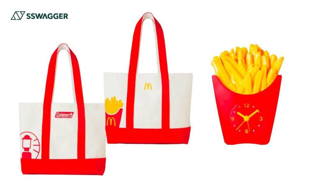 Coleman-x-McDonald's推出新春福袋!膠杯、發聲薯條時計必成經典作-web