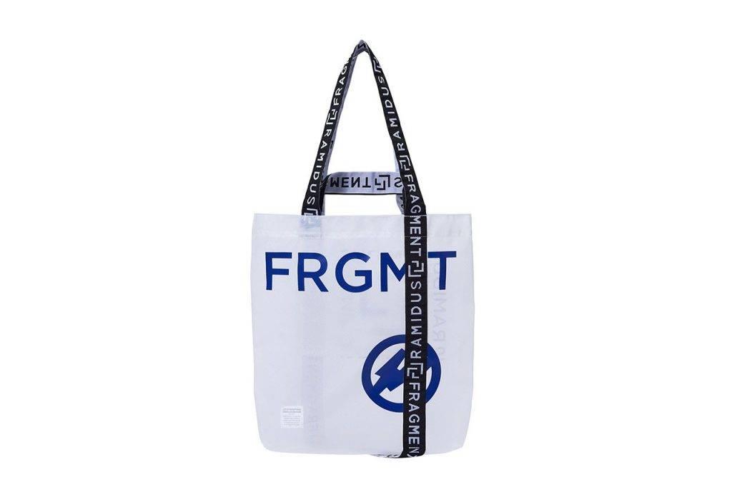 RAMIDUS x fragment design NEXKIN tote bag black and white