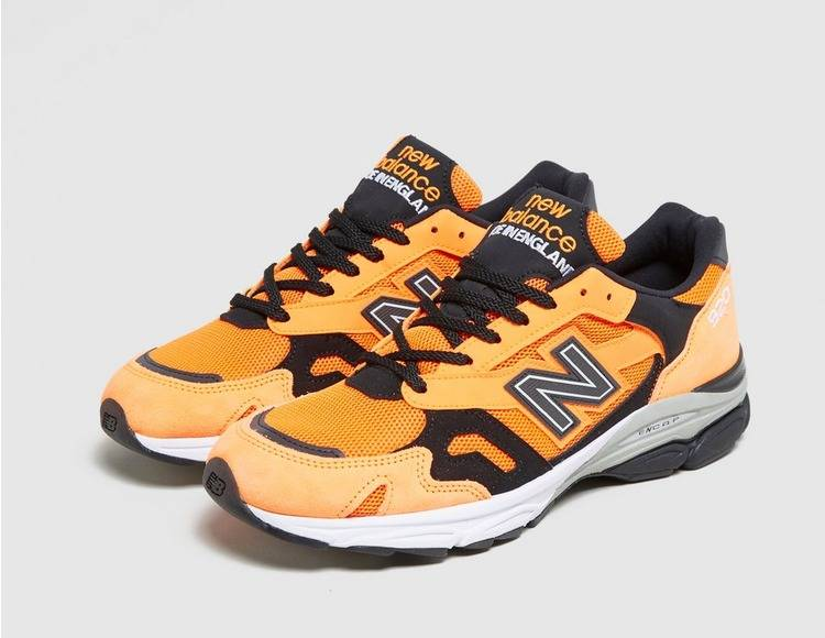 New Balance 920 OG Neon Orange balck colourway