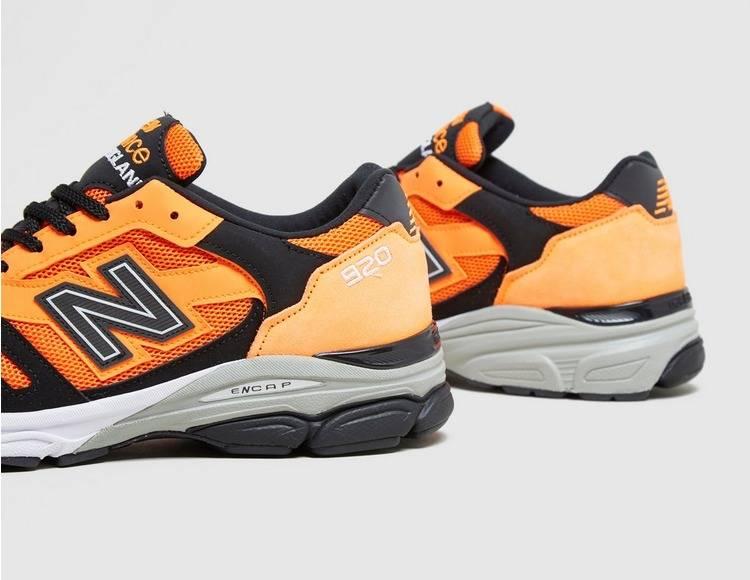 New Balance M920NEO 920 Neon Orange and Black Colourway