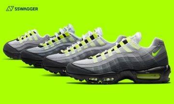Nike Air Max 95 OG Neon復刻登場!25年不敗配色回歸在即