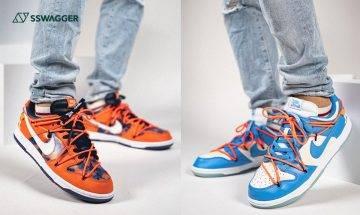 Off-White x Futura x Nike Dunk Low全新聯乘鞋款雙色上腳預覽