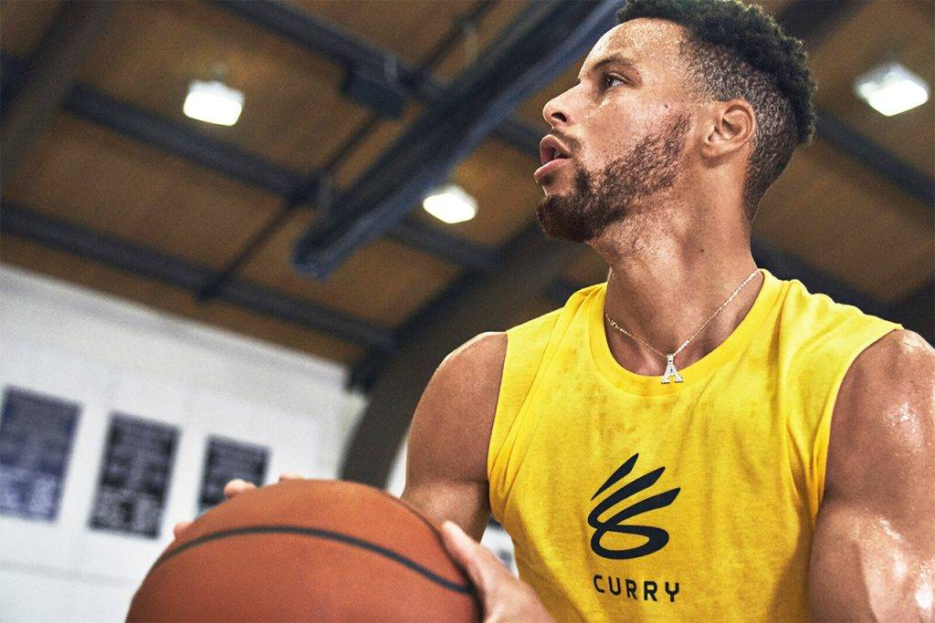 Curry Brand Under Armour official launch photo