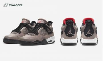 Air Jordan 4 Taupe Haze官方圖終曝光!Travis Scott AJ4親友限定平民版?