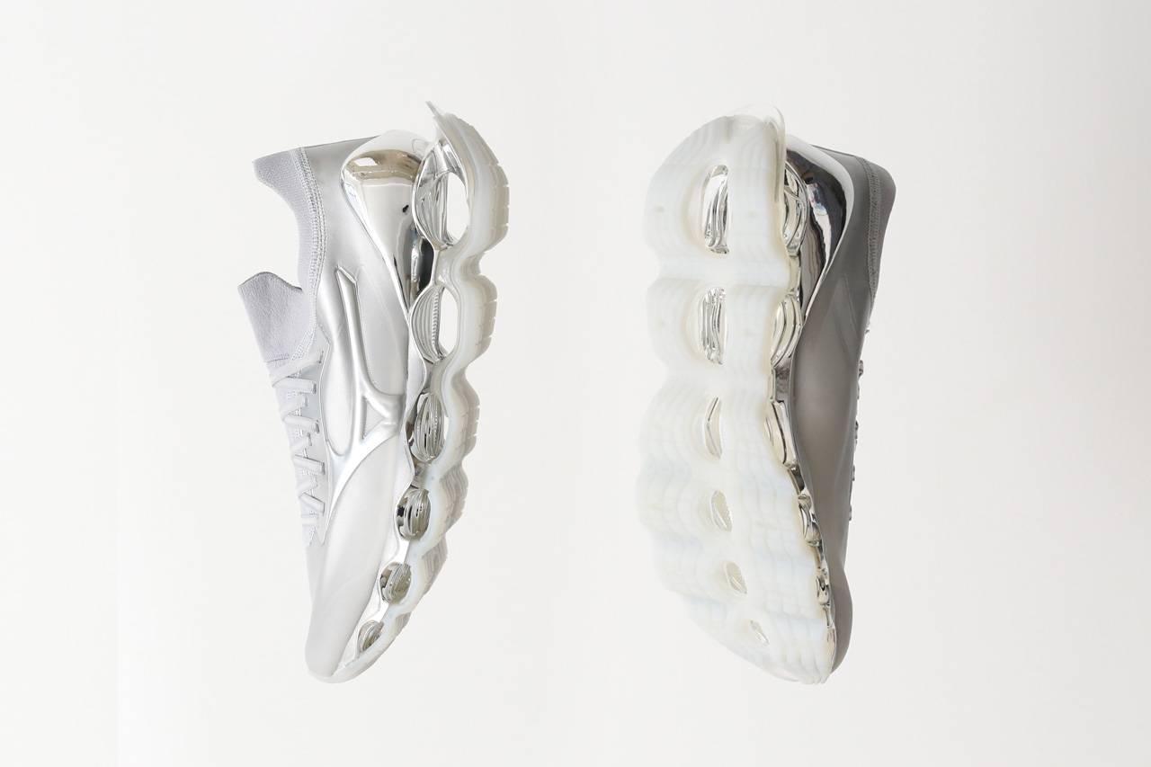 空山基 x Mizuno打造「Wave Prophecy Sorayama」!將球鞋作畫布注入未來感