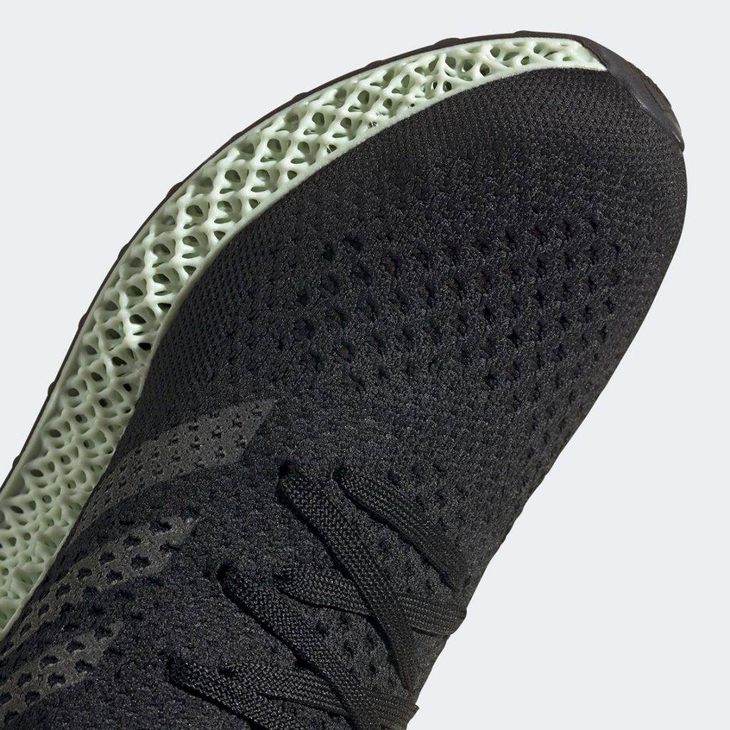 "adidas ""Futurecraft 4D"" OG Black and Ash Green colourway"