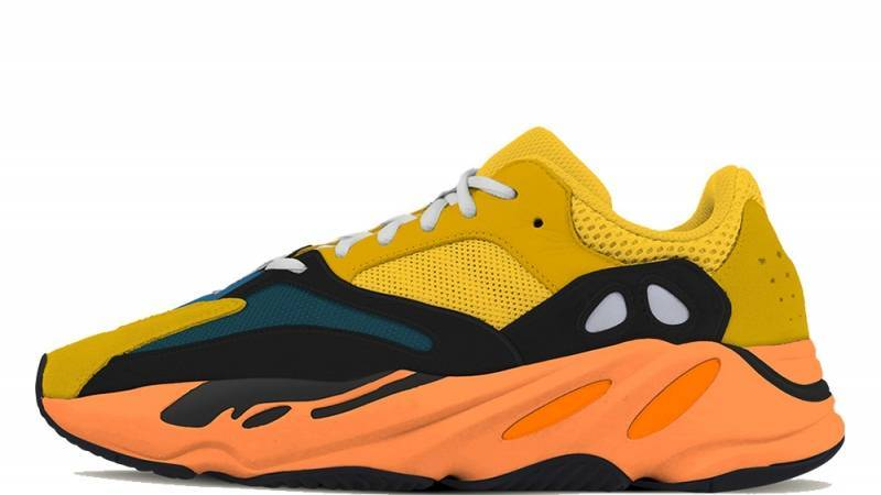 "adidas YEEZY BOOST 700 ""Sun"" Yellow and orange colourway to be released on Jan 23rd"
