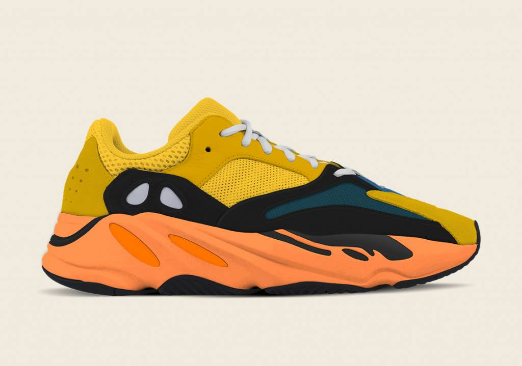 adidas YEEZY BOOST 700 Sun Yellow and orange colourway to be released on Jan 23rd