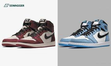 Air Jordan 1 Retro High University Blue發售詳情!Chicago舊化版Burgundy Crush曝光