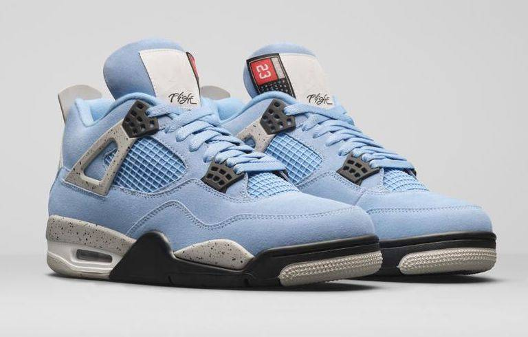 Air Jordan 4 Retro「University Blue」