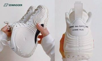 COMME des GARÇONS HOMME PLUS x Nike Air Foamposite One白色版本近賞!待望鞋款即將上架