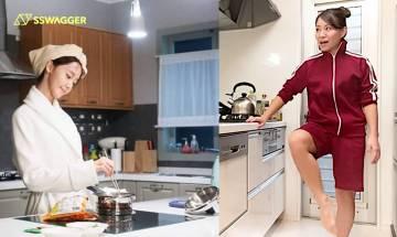 廚房運動瘦身秘技!5個簡易動作助你爭取時間瘦全身