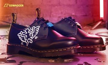 Keith Haring聯乘系列又添一員!Dr. Martens塗鴉3鞋首誕生