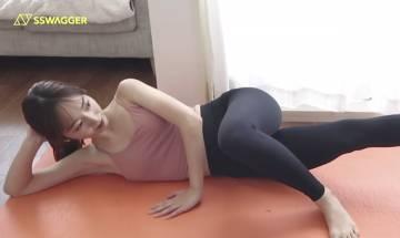 瘦大腿2星期激減3.5cm!即學即做4分鐘瘦腿運動