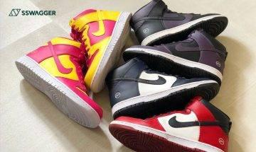 fragment design x Nike Dunk High City Pack闊別11年回歸!上架消息同時曝光